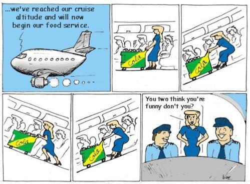 Юмор по авиакомпании