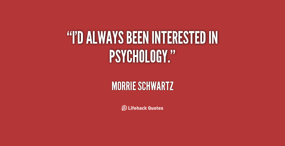 Psychology Quotes Quotesgram