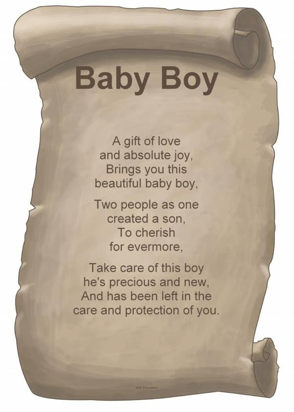 baby boy poems and quotes  quotesgram