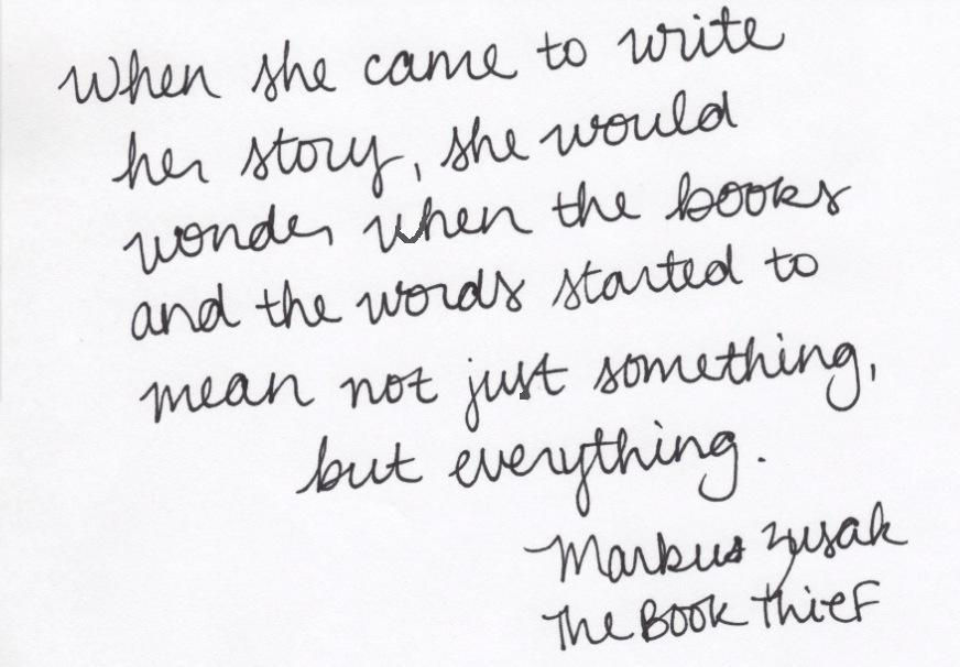 The Book Thief Quotes. QuotesGram