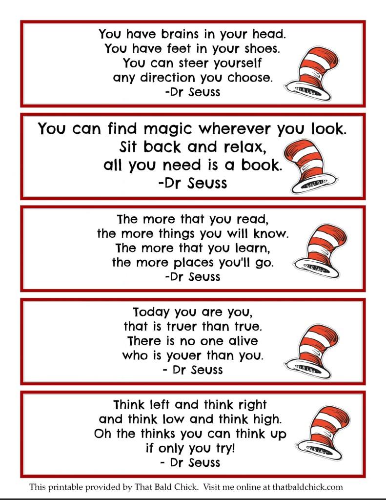 Worksheets For Dr Seuss : Printable dr seuss quotes quotesgram