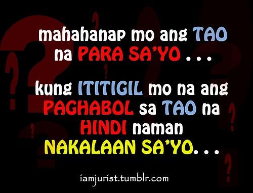 Tagalog love punchline Tagalog Love