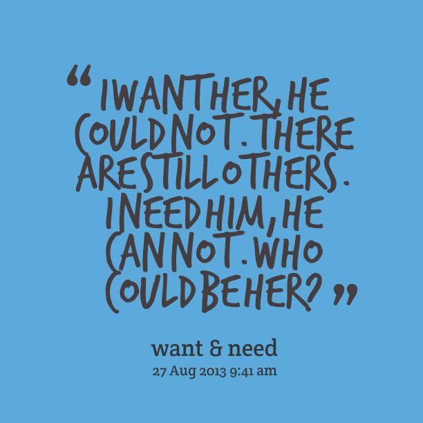 I Want Him Quotes. QuotesGram