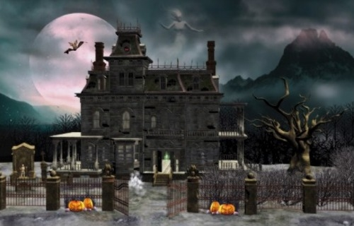 Quotes About Haunted Houses: A Haunted House Quotes. QuotesGram