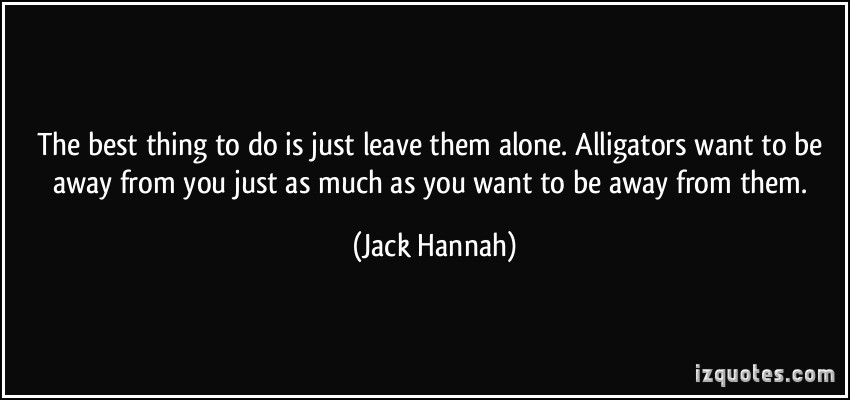 I Want Be Alone Quotes