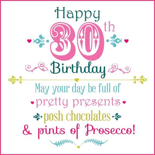 Girls 30th Birthday Quotes. QuotesGram