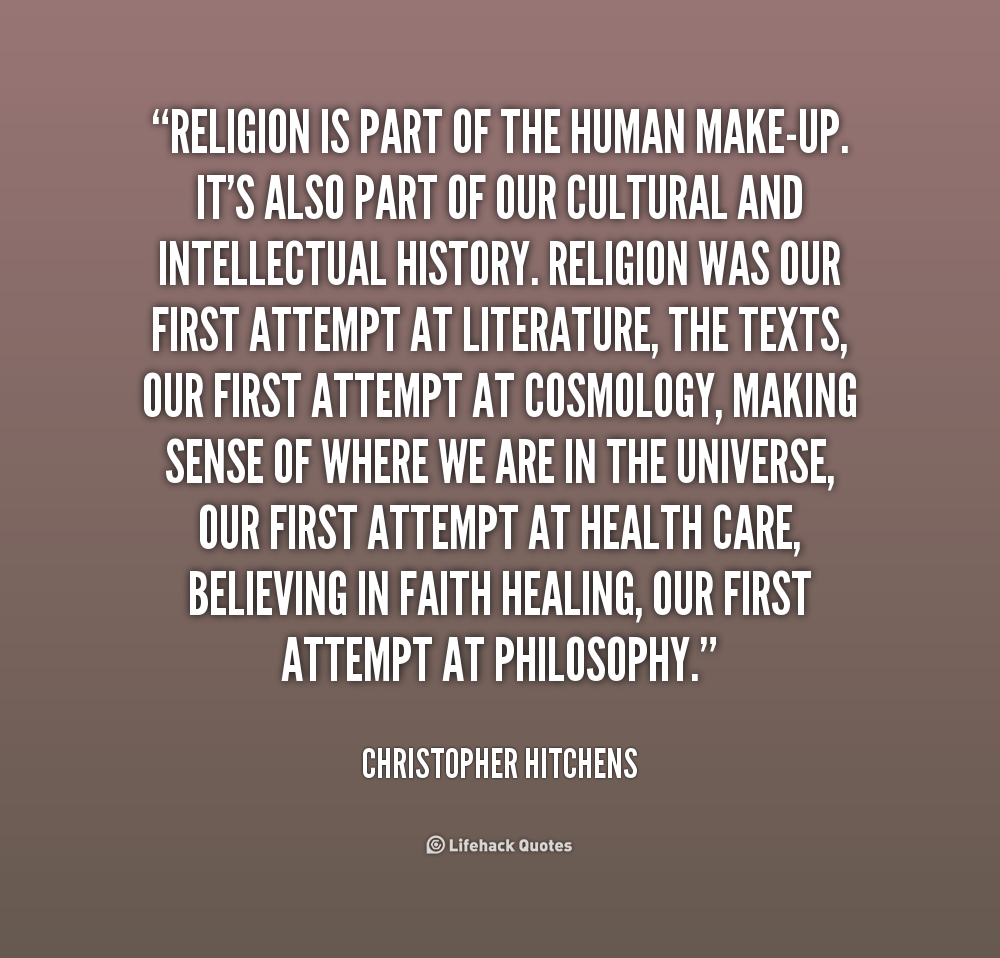 Inspirational Quotes About Positive: Christopher Hitchens Quotes On Religion. QuotesGram