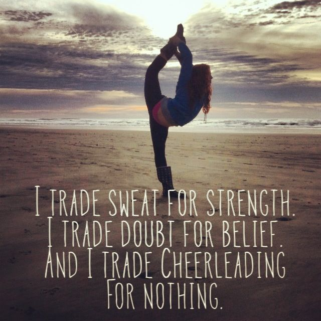 Motivational Quotes For Sports Teams: Inspirational Quotes For Cheerleading Teams. QuotesGram