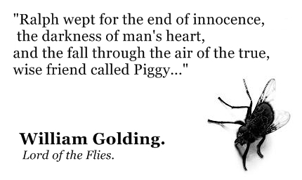 lord of the flies human nature thesis Lord of the flies by william golding what is human nature how does william golding use it in such a simple story of english boys to precisely illustrate how truly destructive humans can be.