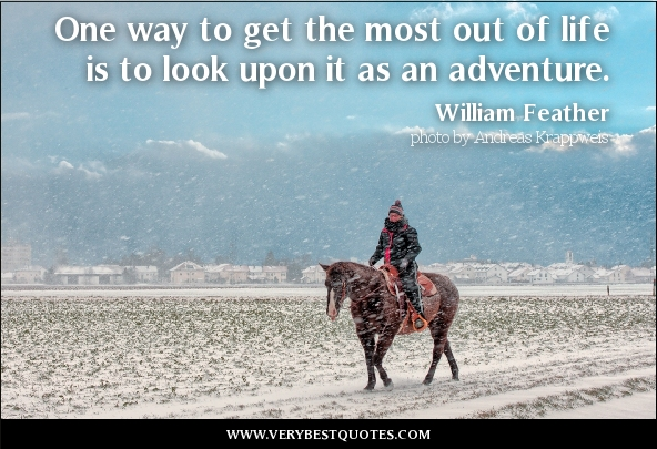 Adventure Quotes Quotesgram: Life Is An Adventure Quotes. QuotesGram