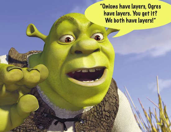 Image result for parfait has layers shrek