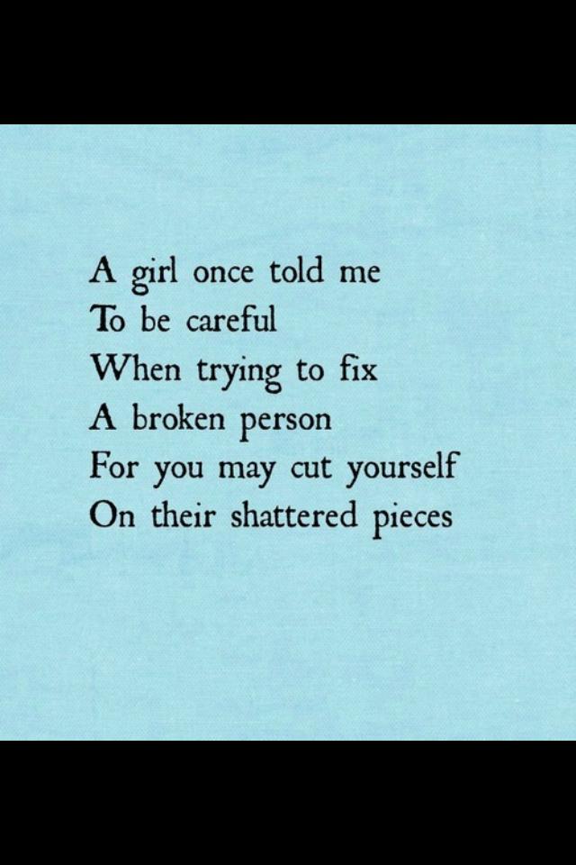 Fixing A Broken Relationship Quotes. QuotesGram