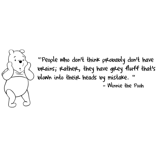Saying Quotes About Sadness: Famous Winnie The Pooh Quotes. QuotesGram