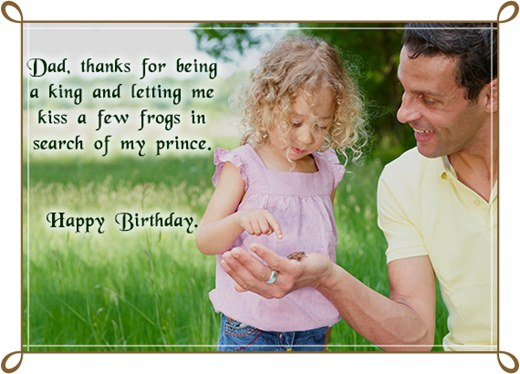 Father To Daughter Birthday Quotes Quotesgram