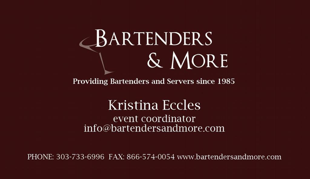 Bartending Quotes And Sayings: Bartender Business Cards Quotes. QuotesGram