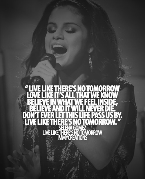 Selena Gomez Quotes And Sayings. QuotesGram