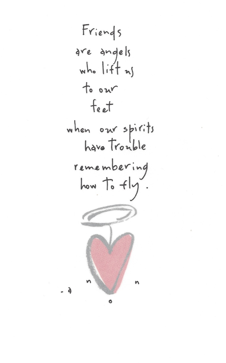 angel sayings for friends - photo #41