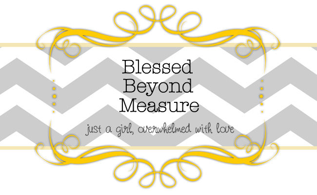 Blessed Beyond Measure Quotes. QuotesGram