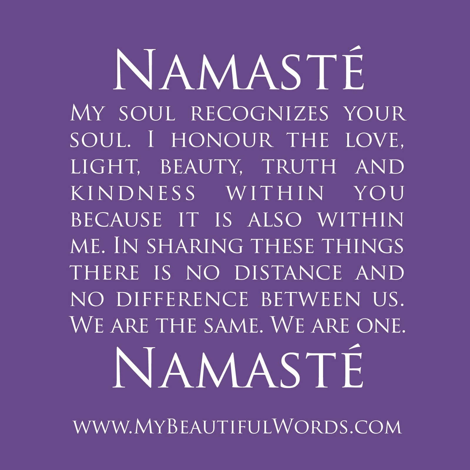 Namaste Quotes Sayings. QuotesGram
