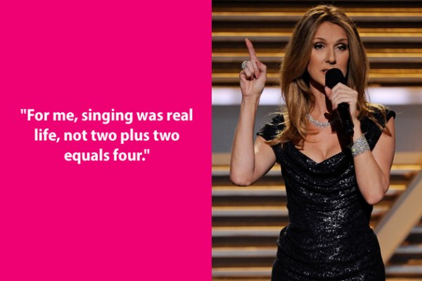 Celine Dion Song Quotes About Family. QuotesGram