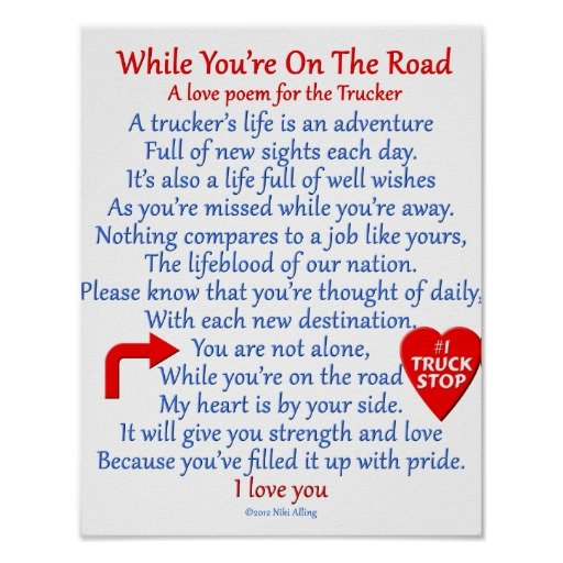 funny valentines day cards for wife - Trucker Quotes And Poems QuotesGram