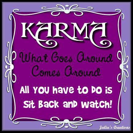 Quotes karma bites back quotesgram for All about karma