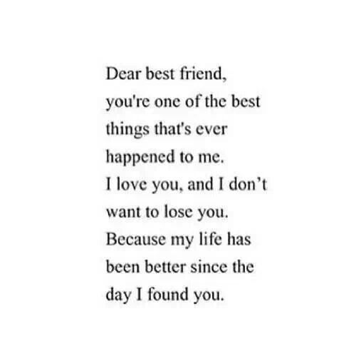 I Love U Friend Quotes: Dear Best Guy Friend Quotes. QuotesGram
