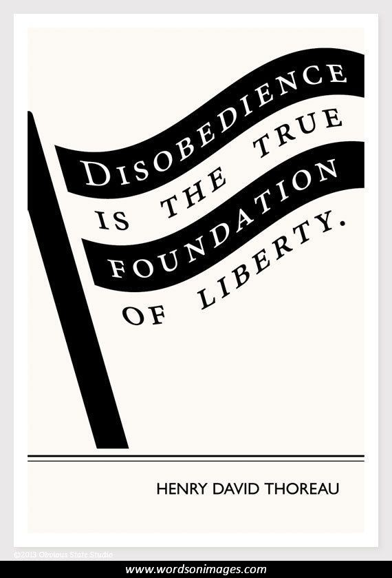 Thoreau and dependency