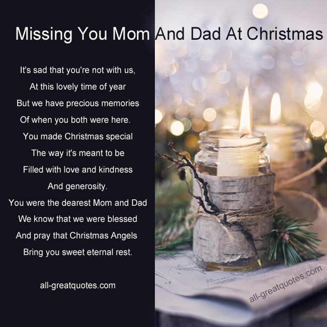 Sad I Miss You Quotes For Friends: Dad Quotes Missing You At Christmas. QuotesGram