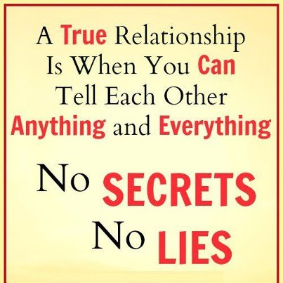 maintain a good relationship