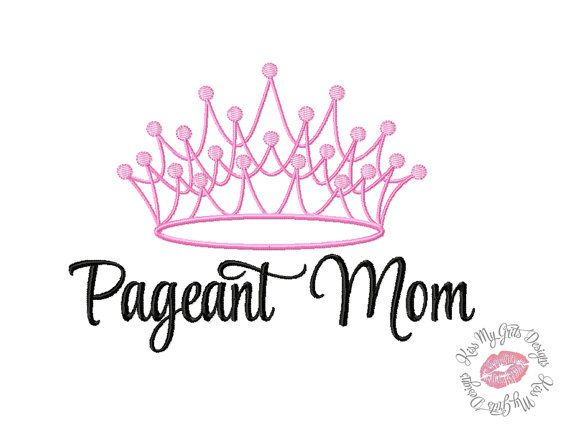 Child beauty pageant logo - photo#2
