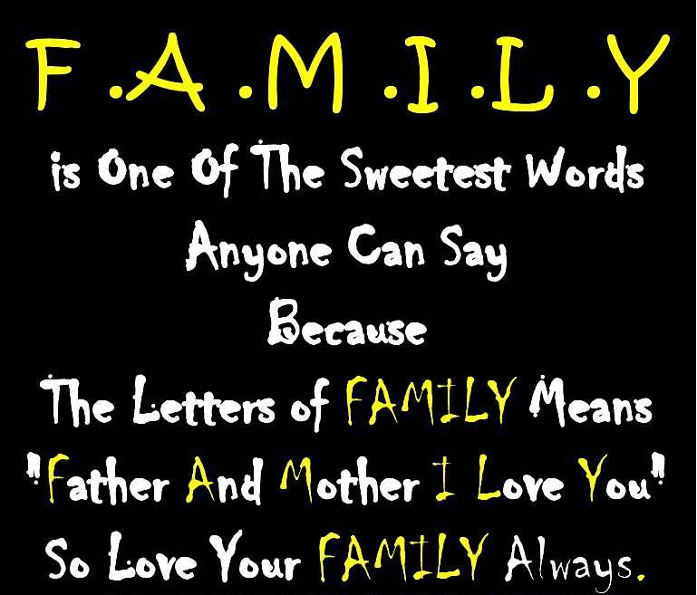 Inspirational Quotes About Family Love: Cute Family Quotes. QuotesGram
