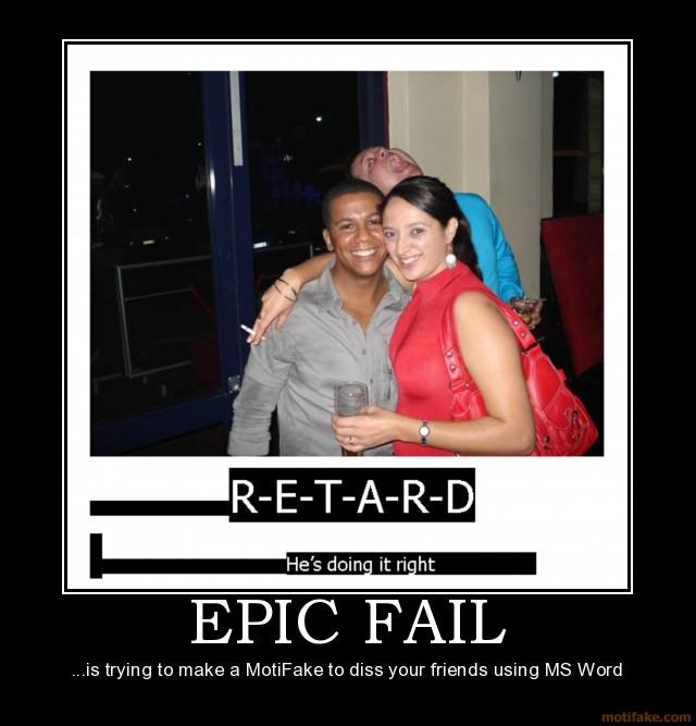 Epic Failure Funny Quotes Quotesgram