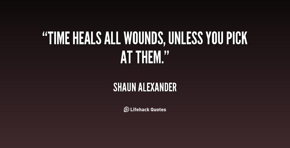 Time Heals Quotes. QuotesGram