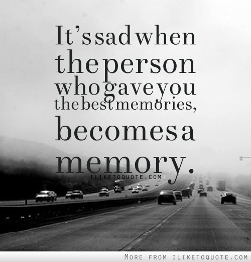 Saying Quotes About Sadness: Sad Quotes Memories. QuotesGram