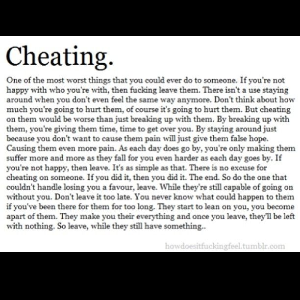 quotes about cheating in a relationship tumblr