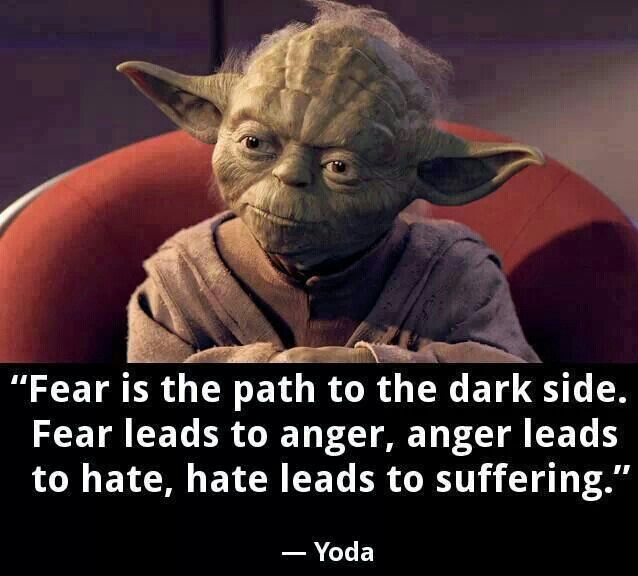 Yoda Quotes About Fear. QuotesGram