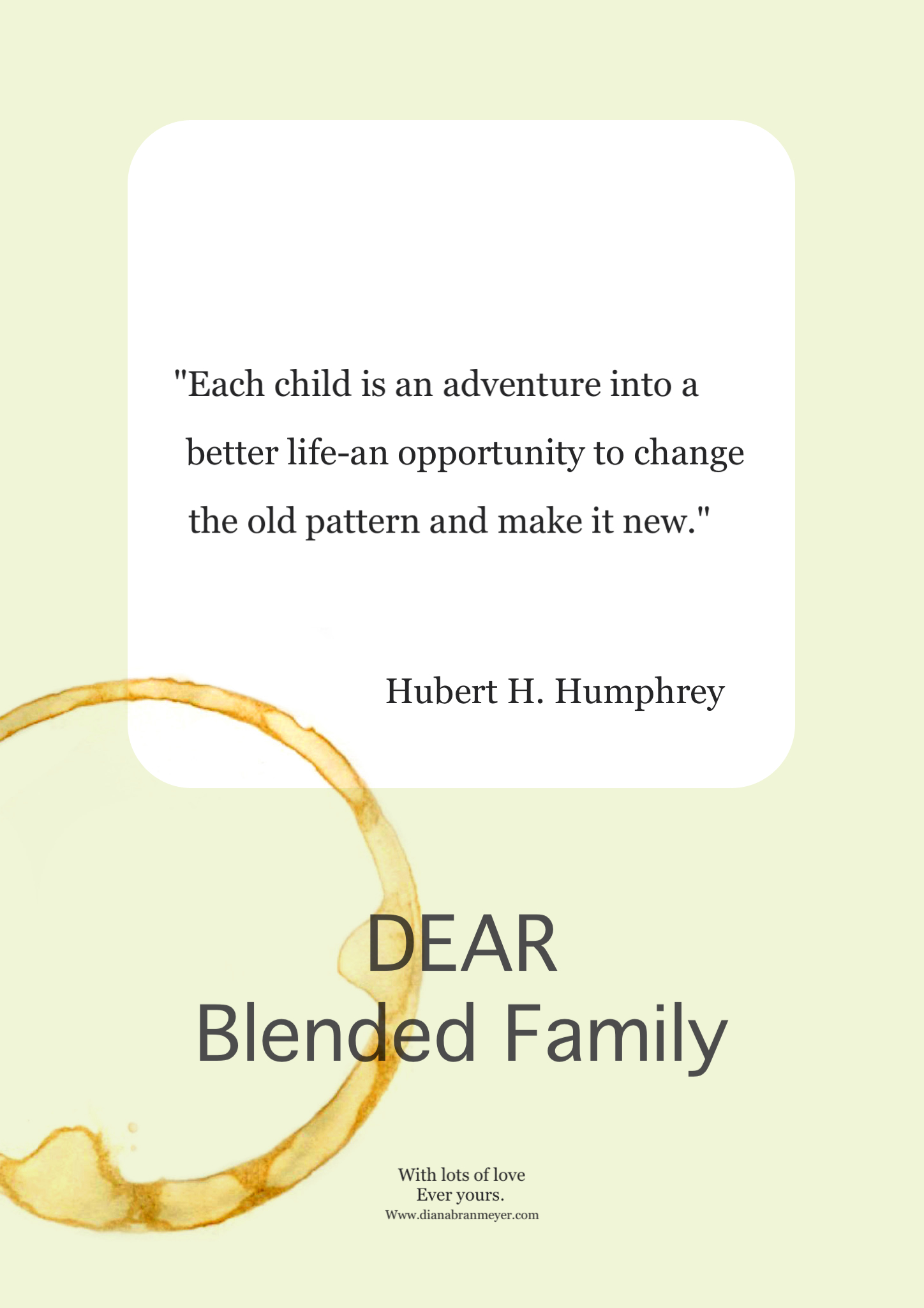 Inspirational Quotes About Blended Families. QuotesGram