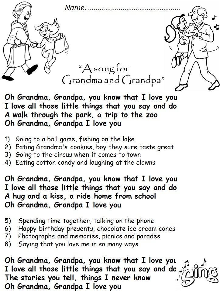 grandparents day song - 724×630