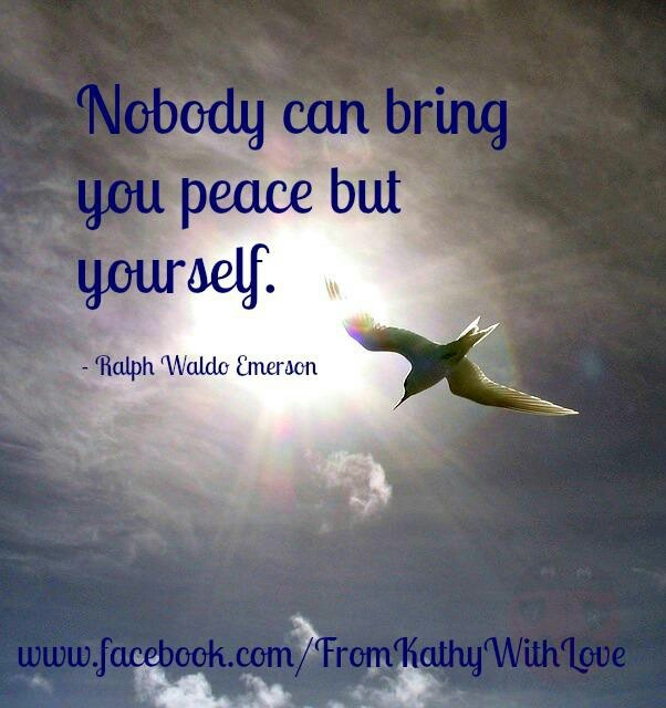finding the peace within Creating inner peace is always a choice each day, we're faced with the choice to create peace or create stress for some, this can be a.