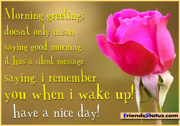 Good Morning Quotes To Him: Good Morning Quotes To Share. QuotesGram
