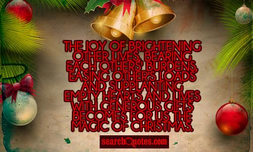 Holiday Season Quotes Inspirational Quotesgram: Holiday Quotes Generosity. QuotesGram