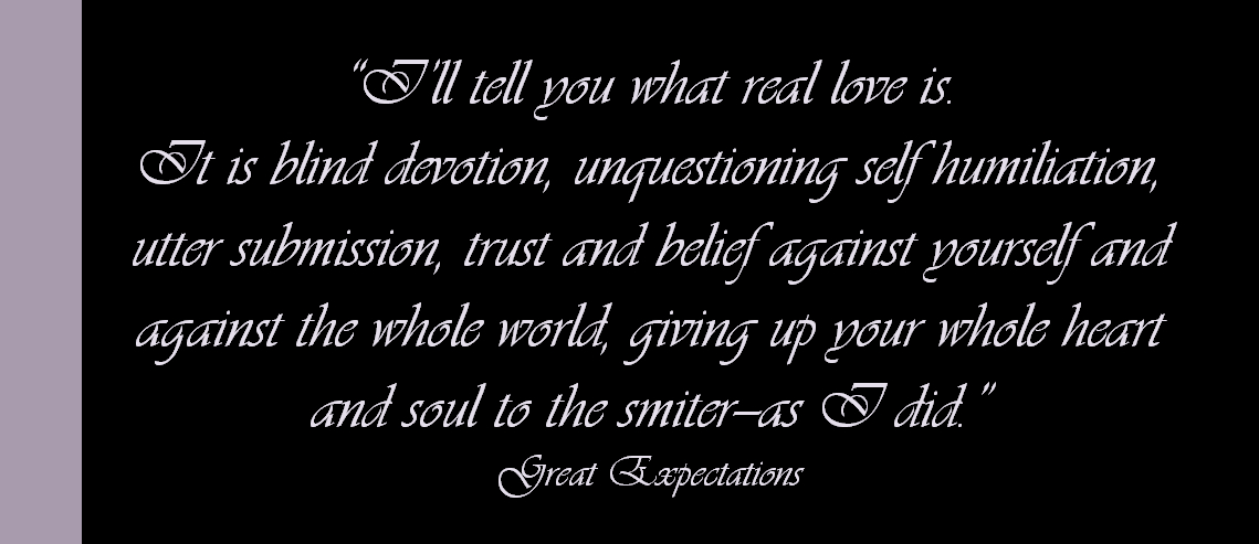 love in great expectations Watch video  great expectations r | 1h 51min classic story finds the hapless finn as a painter in new york city pursuing his unrequited and haughty childhood love.