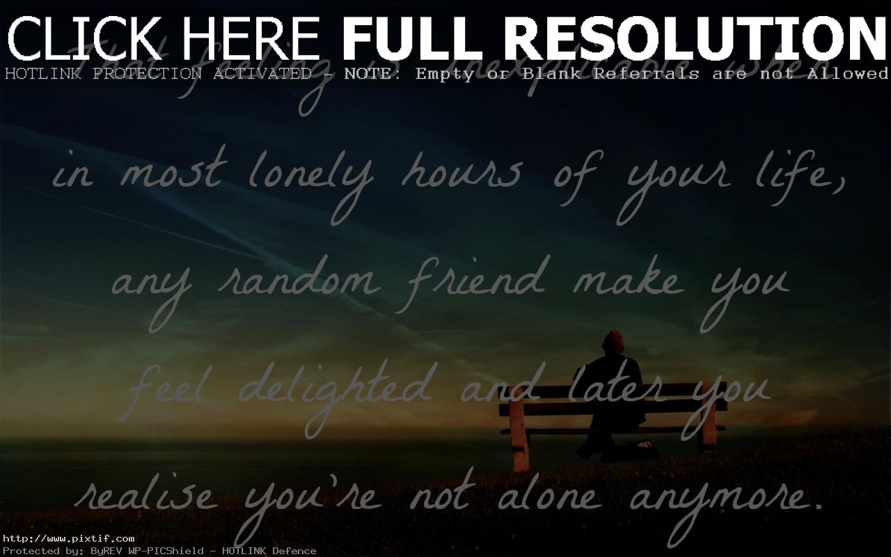 Man Alone Sad Quotes: Sad Quotes About Feeling Alone. QuotesGram