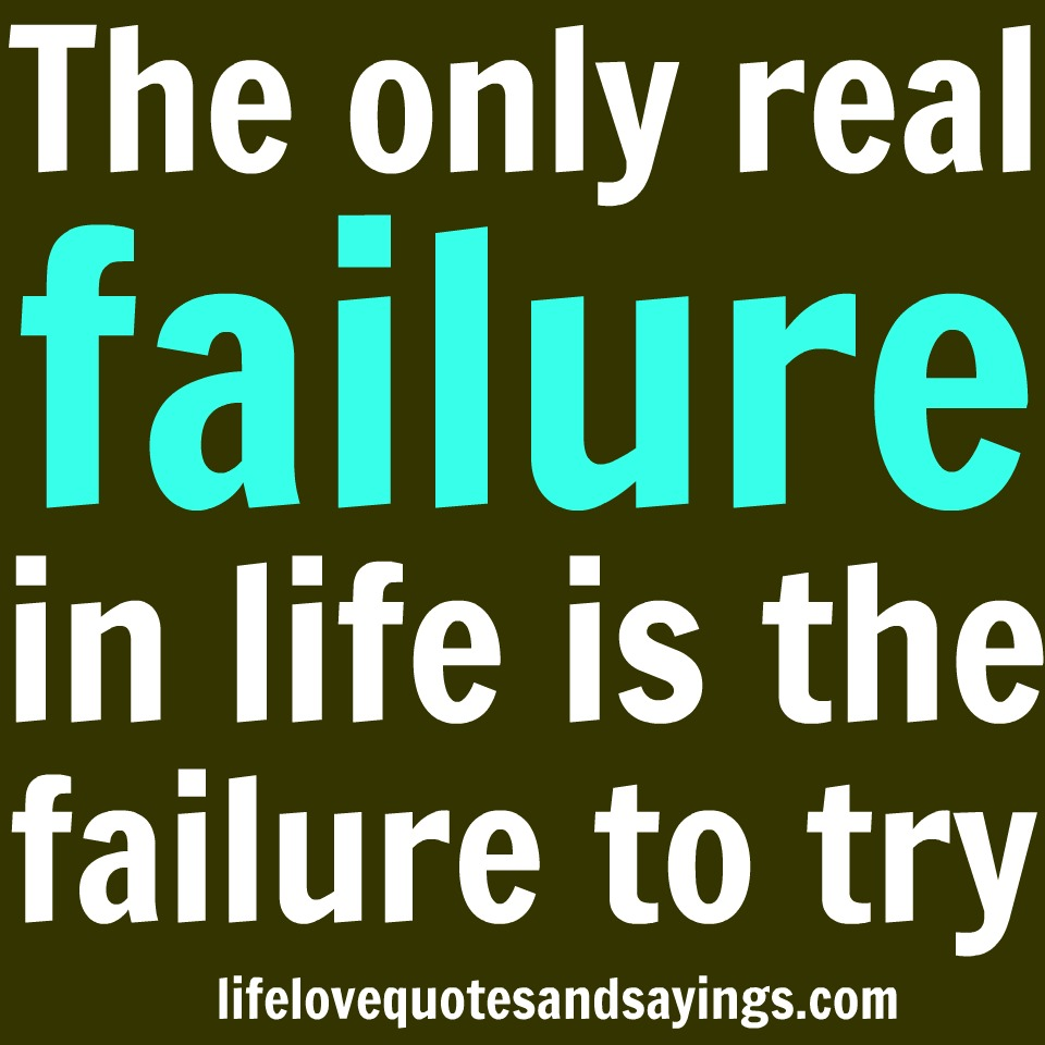 25 Best Failure Quotes On Pinterest: Failure In Life Quotes. QuotesGram