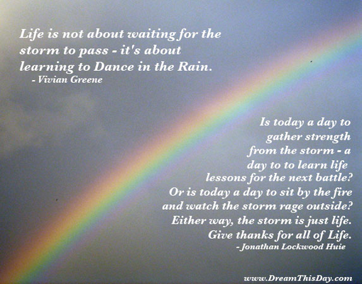 Quotes About Storms Of Life. QuotesGram