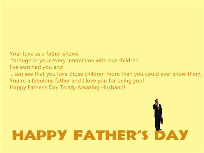Happy Fathers Day Quotes From Wife. QuotesGram