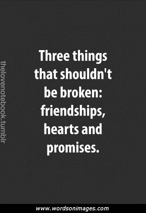 inspirational quotes about broken friendships quotesgram