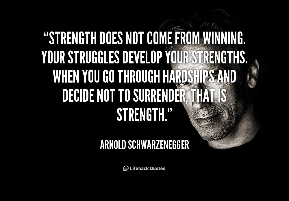 Quotes About Strength Quotesgram