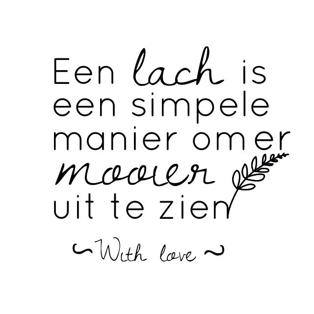 Love quotes in dutch :